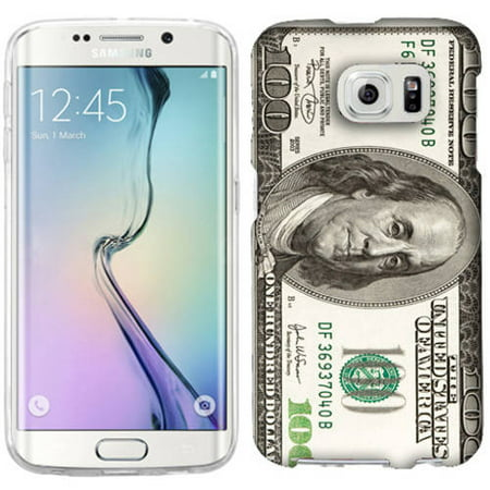 Mundaze Hundred Dollar Phone Case Cover for Samsung Galaxy S6 edge Dollars Case Cover