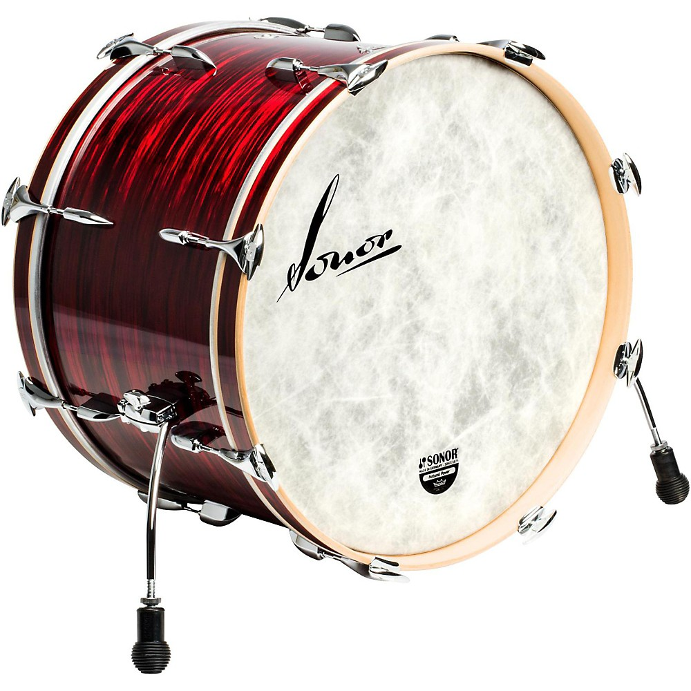 Sonor Vintage Series Bass Drum NM 22 x 14 in. Vintage Red Oyster by Sonor