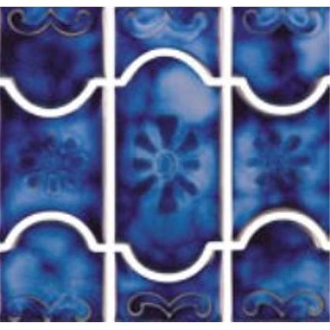 NPT Tile BUE22 21.4 sq ft. Buenos Blue Tile
