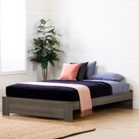 South Shore Gravity Platform Bed, Multiple Finishes