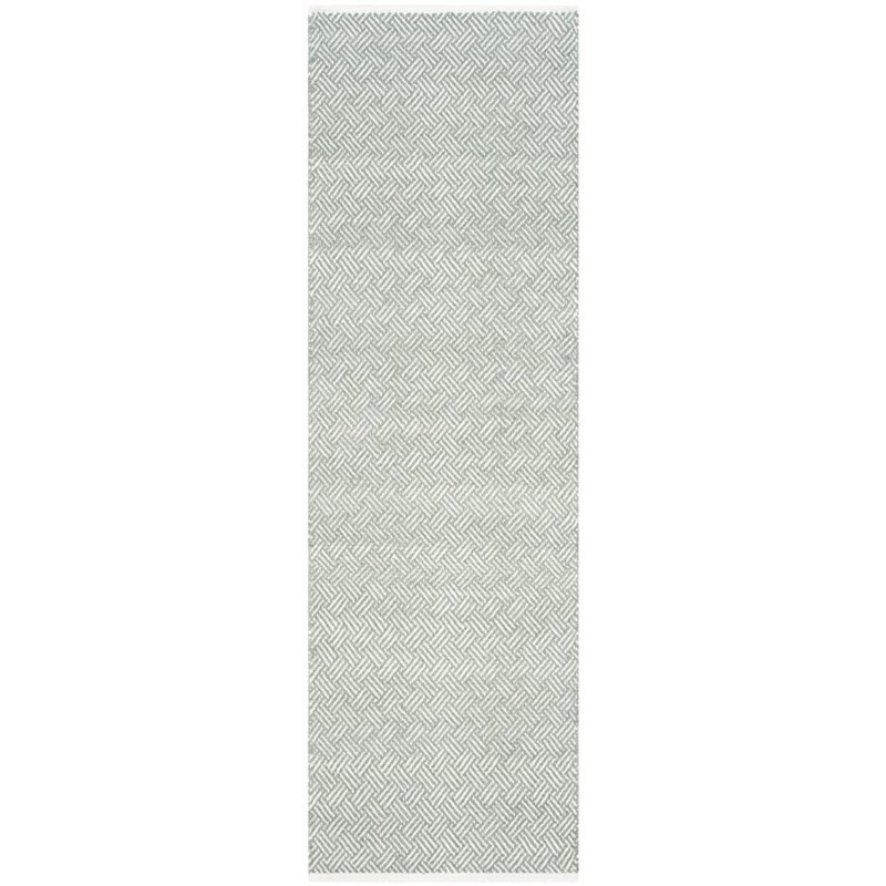Safavieh Boston 6' X 9' Hand Woven Cotton Pile Rug in Gray - image 3 of 9