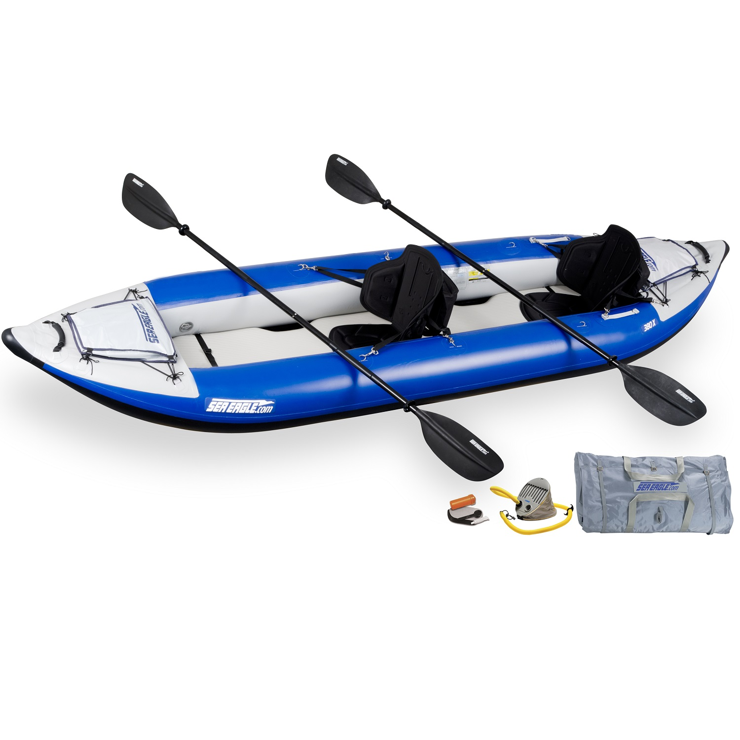 Click here to buy Sea Eagle Explorer Inflatable Kayak 380XK Pro by Sea Eagle.