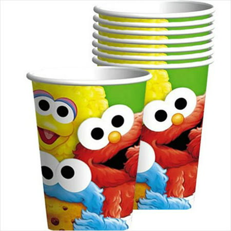 Sesame Street 1st Birthday 9oz Paper Cups (8ct)