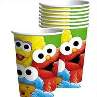 Sesame Street 1st Birthday 9oz Paper Cups (8ct)