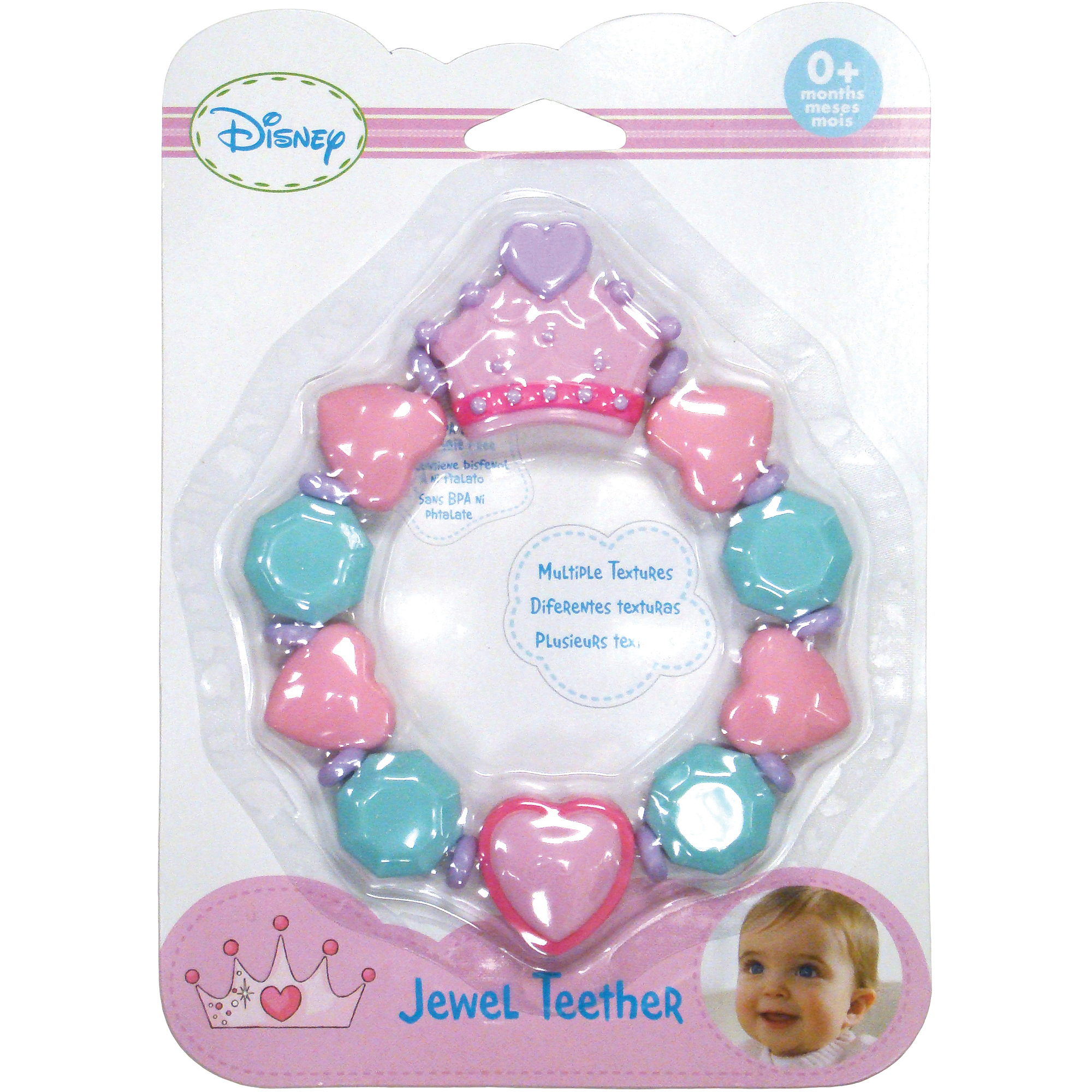 Kids Preferred Disney Baby Disney Princess Jewel Teether