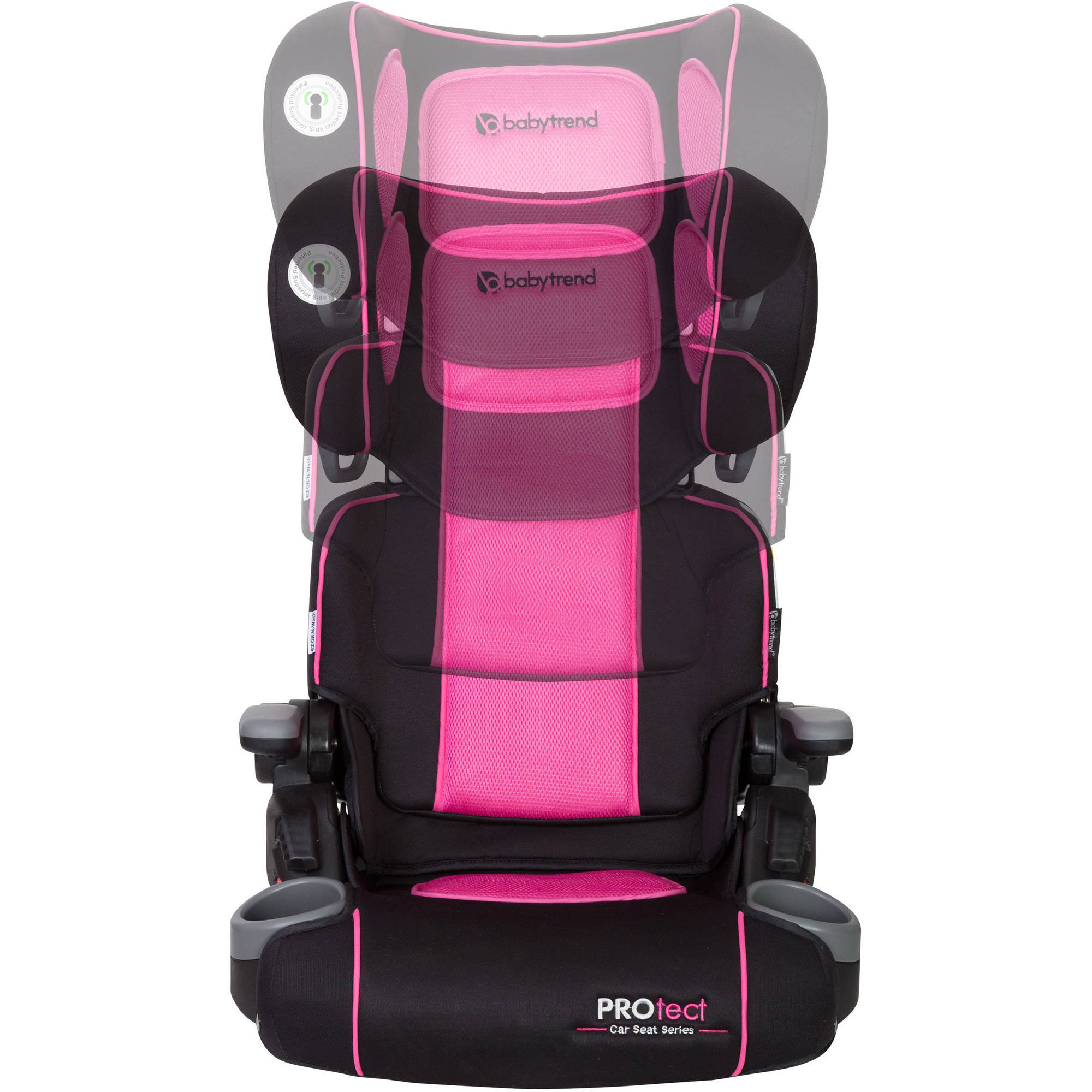 baby trend protect yumi folding booster car seat ophelia ebay. Black Bedroom Furniture Sets. Home Design Ideas
