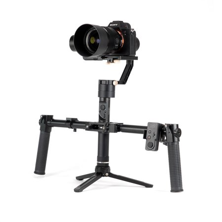 2018 EVO Rage Gen2 Handheld Stabilizer Gimbal for Mirrorless & DSLR – Cameras | Bundle Includes: EVO Rage Gen2 + Pro-Grip Handles + Wireless