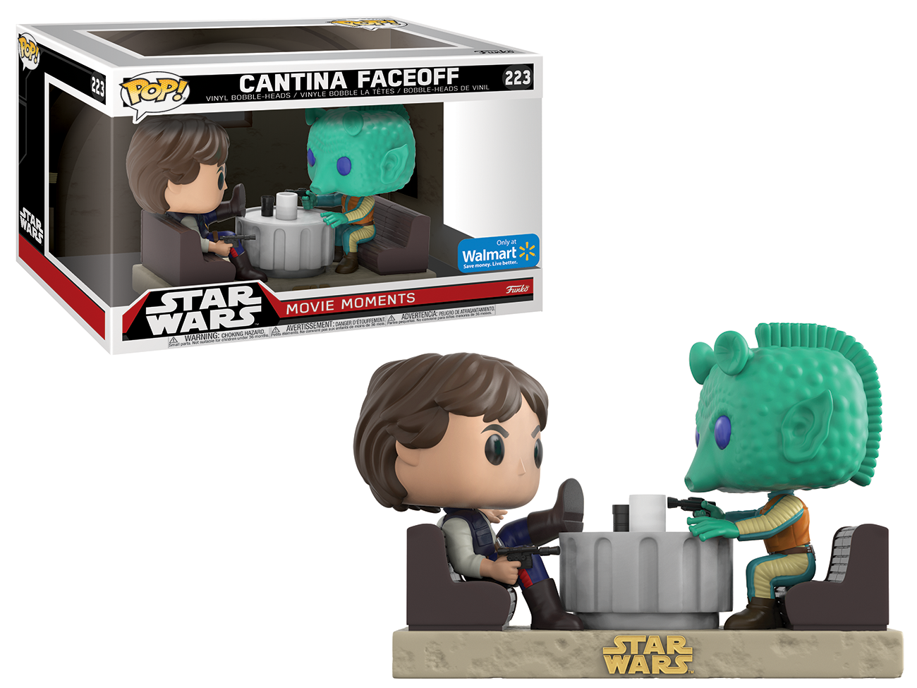Funko POP! Star Wars: Movie Moments - Han Solo and Greedo Cantina