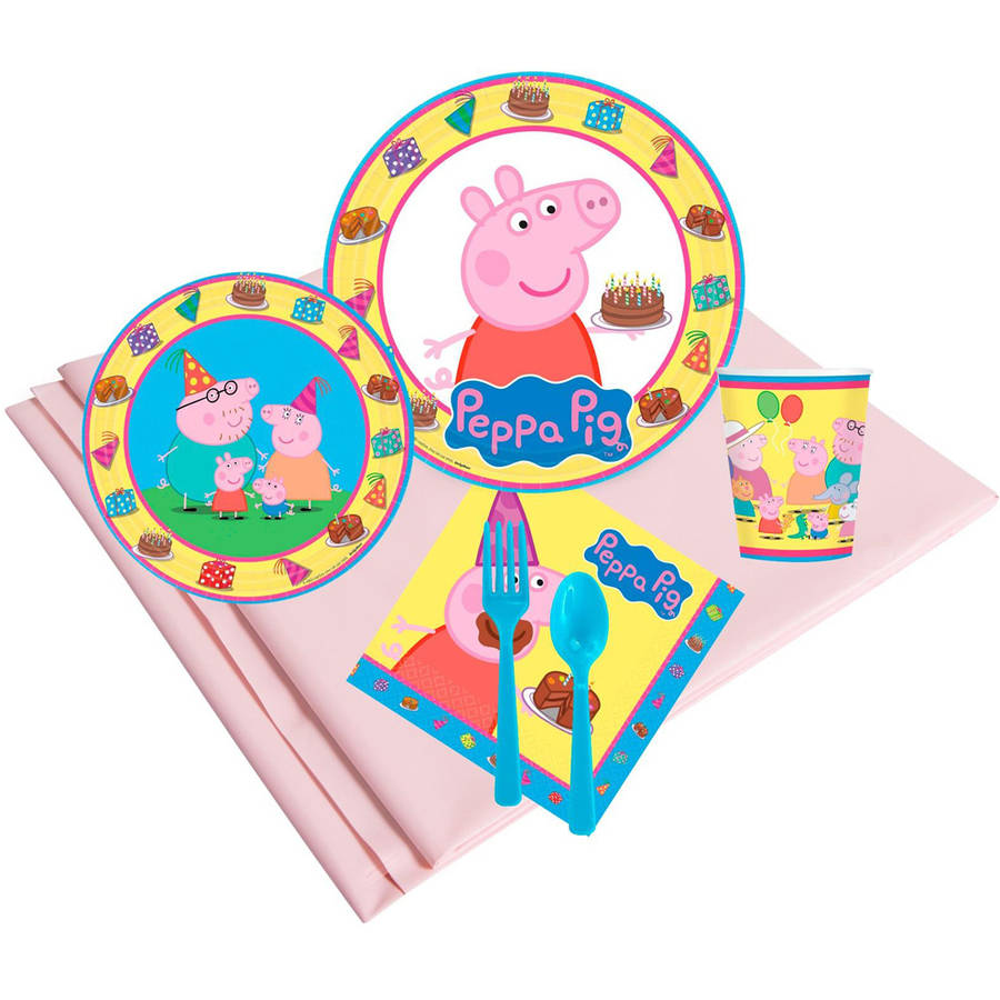 Peppa Pig Dessert Plates 24-Pack Party Supplies unknown