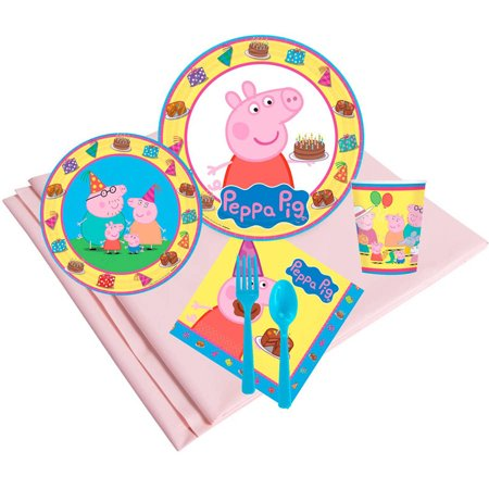 Peppa Pig 24-Guest Party Pack