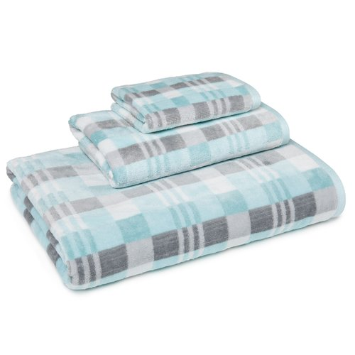 Latitude Run Cotton La Pointe 3 Piece Towel Set