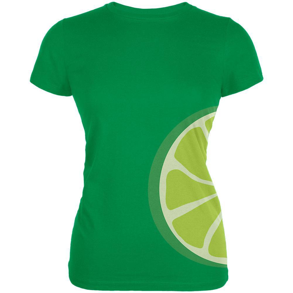 Lime Slice Costume Juniors Soft T Shirt