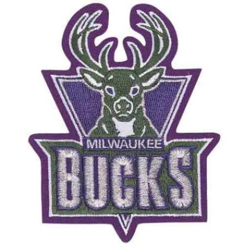 MILWAUKEE BUCKS NBA LOGO PATCH