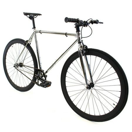 Golden Cycles Chrome Chrome/Black Fixed Gear 45