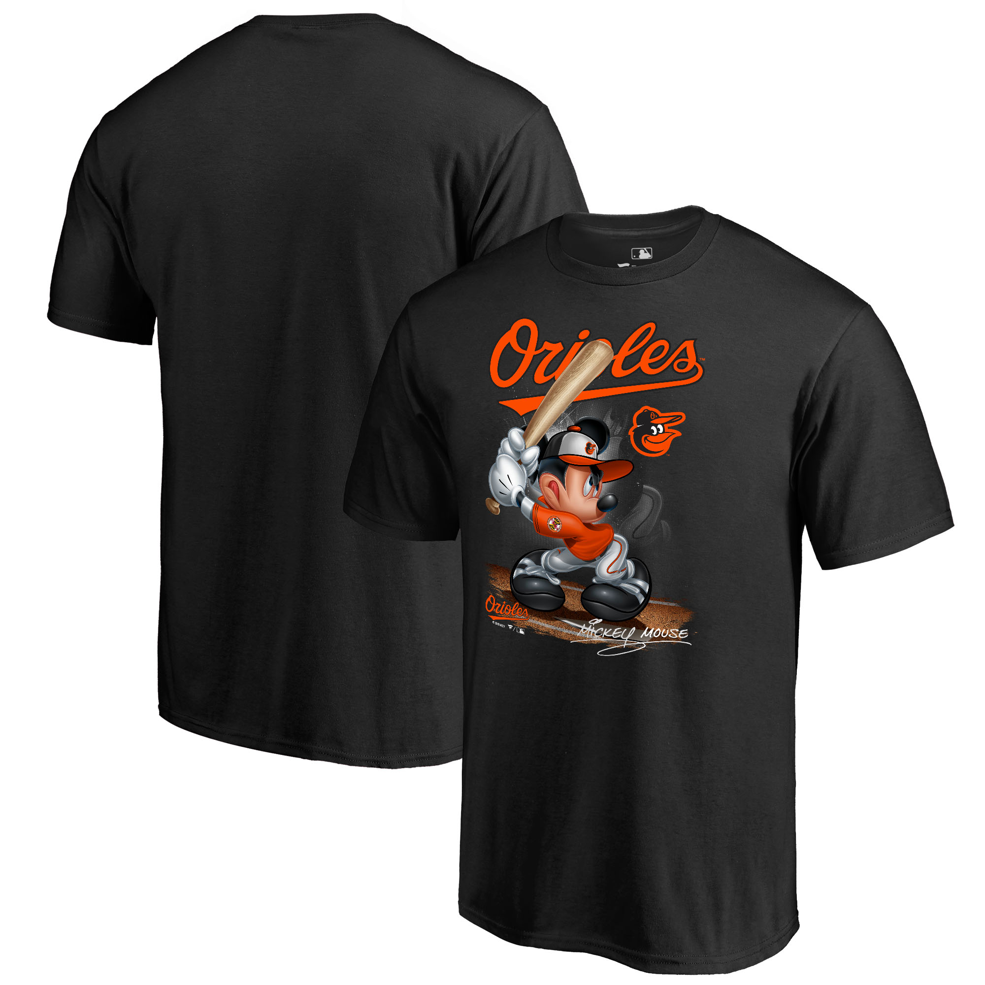Baltimore Orioles Fanatics Branded Youth Disney All Star T-Shirt - Black