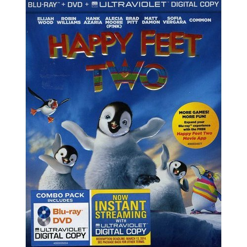 Happy Feet Two (Blu-ray + DVD) (With INSTAWATCH) (Widescreen)