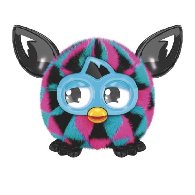 Furby Furblings Triangles Figure [Pink, Black & Blue] by Hasbro
