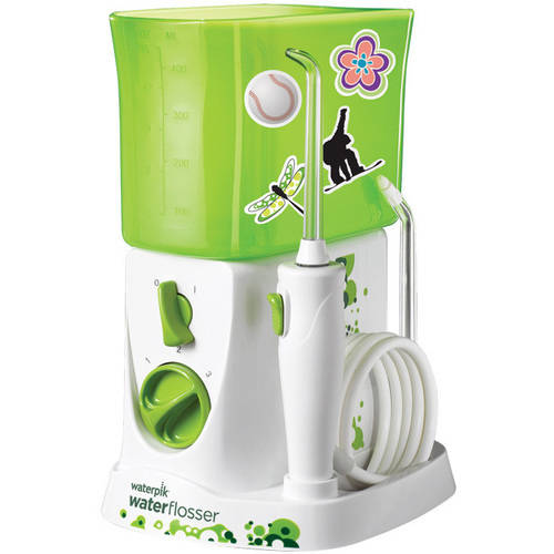 Waterpik Countertop Water Flosser For Kids WP-260, White