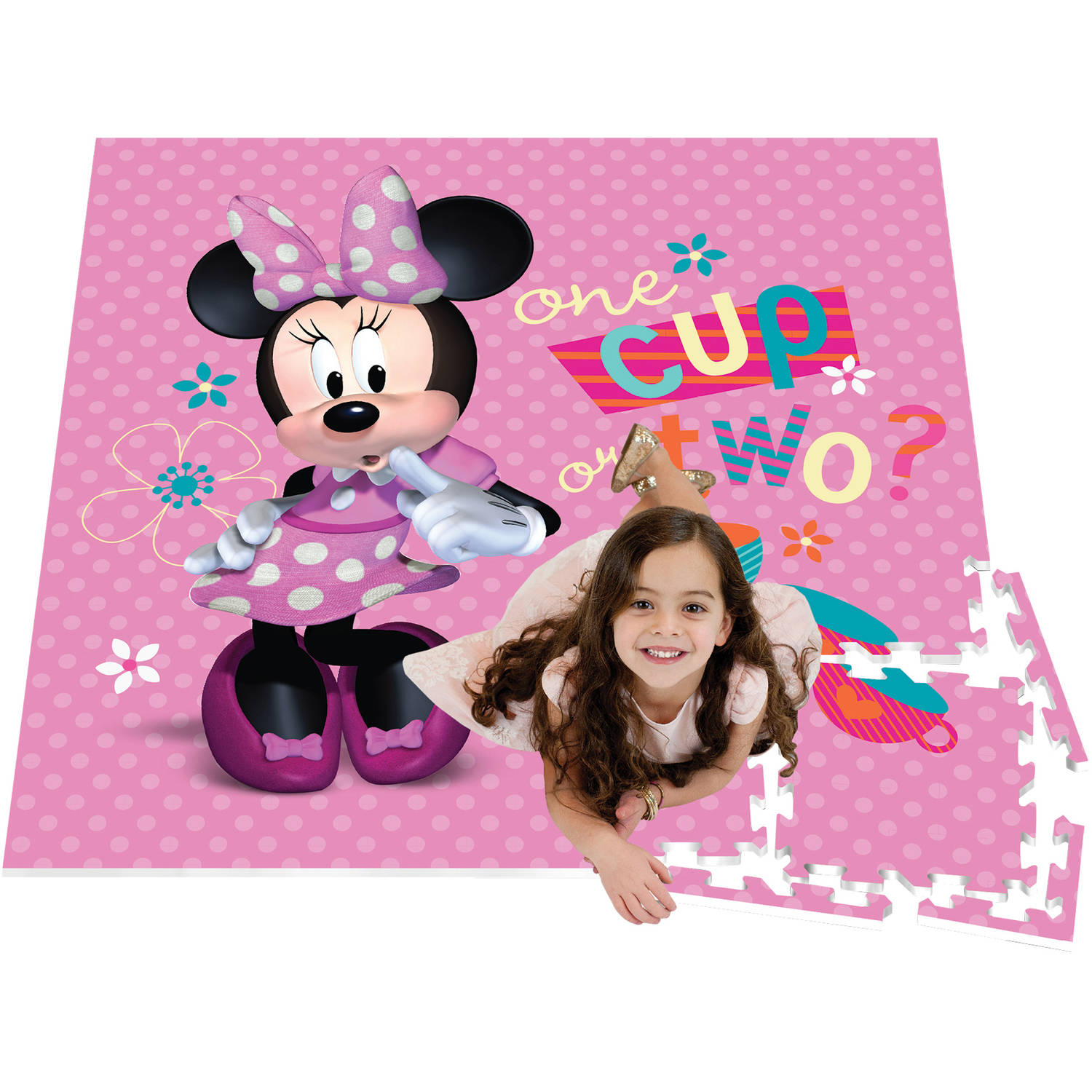 4' v 4' Activity Play Mat, Minnie Mouse