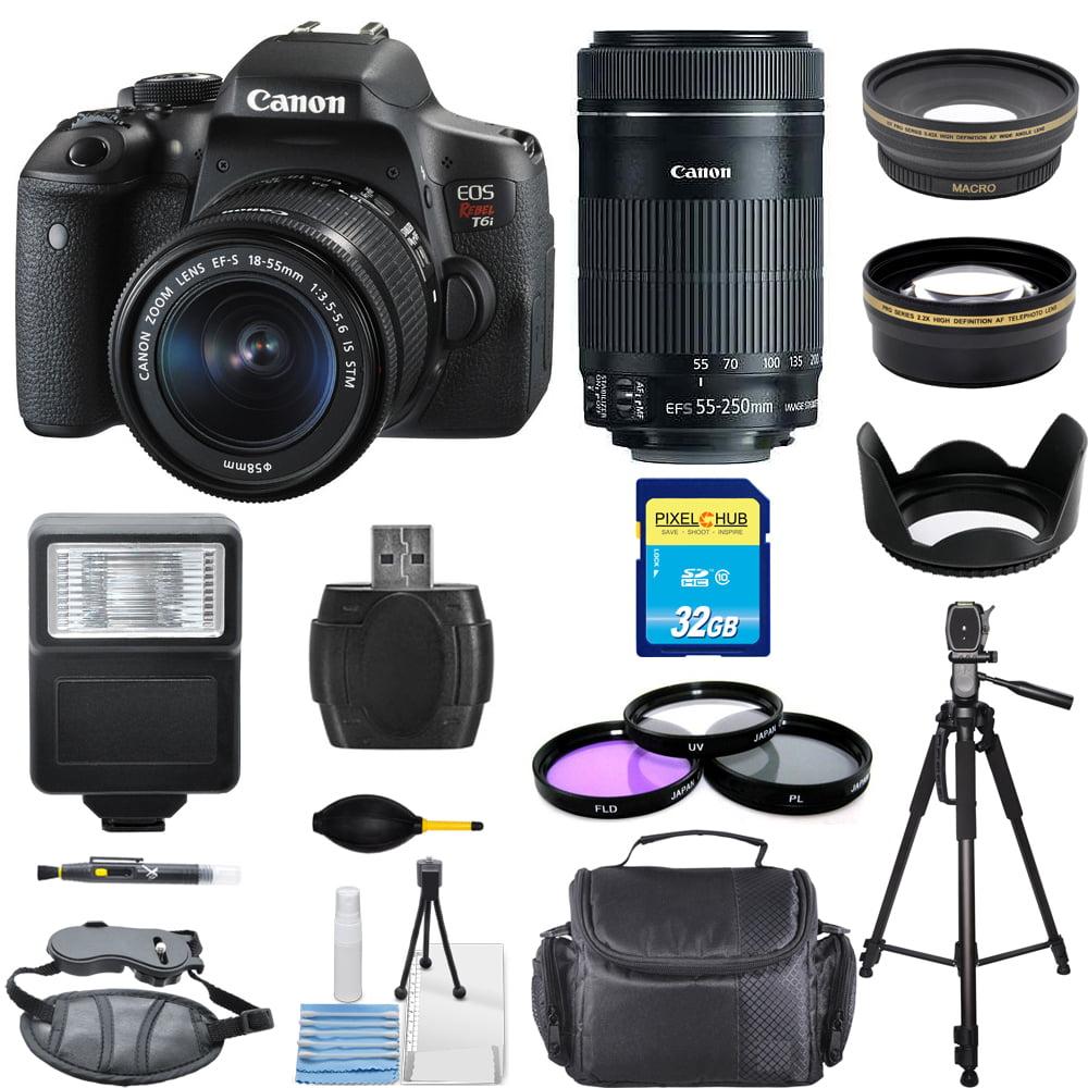 UNASSIGNED Canon EOS Rebel T6i/750D DSLR Camera W/ 18-55m...