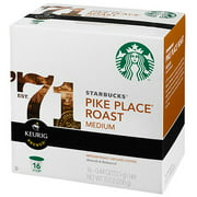 Starbucks K-Cup Pike Place Blend Coffee, 16ct