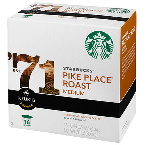 Starbucks�� Pike Place�� Medium Roast Coffee K-Cup�� Pods 16 ct Box