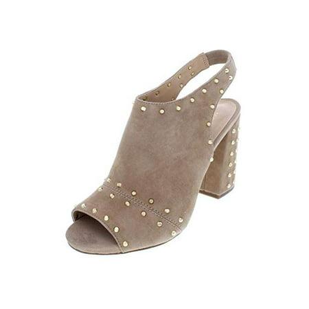 151ab3264003 MICHAEL Michael Kors - Michael Michael Kors Womens Astor Leather Peep Toe  Casual Slingback Sandals - Walmart.com