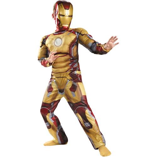 Iron Man 3 Mark 42 Classic Child Muscle Halloween Costume