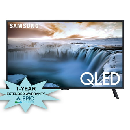"Samsung QN32Q50RA 32"" Class QLED 4K Smart Ultra High Definition TV with a 1 Year Extended Warranty (2019)"