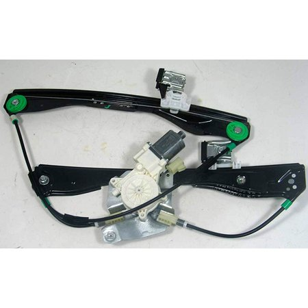 OEM GM 25931991 Front Driver Window Regulator with Motor 05-10 Pontiac G6