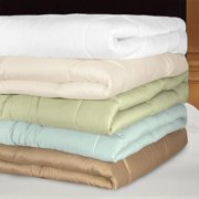 Grand Luxe 300 Thread Count Egyptian Cotton Down Alternative Comforter Twin XL - Taupe