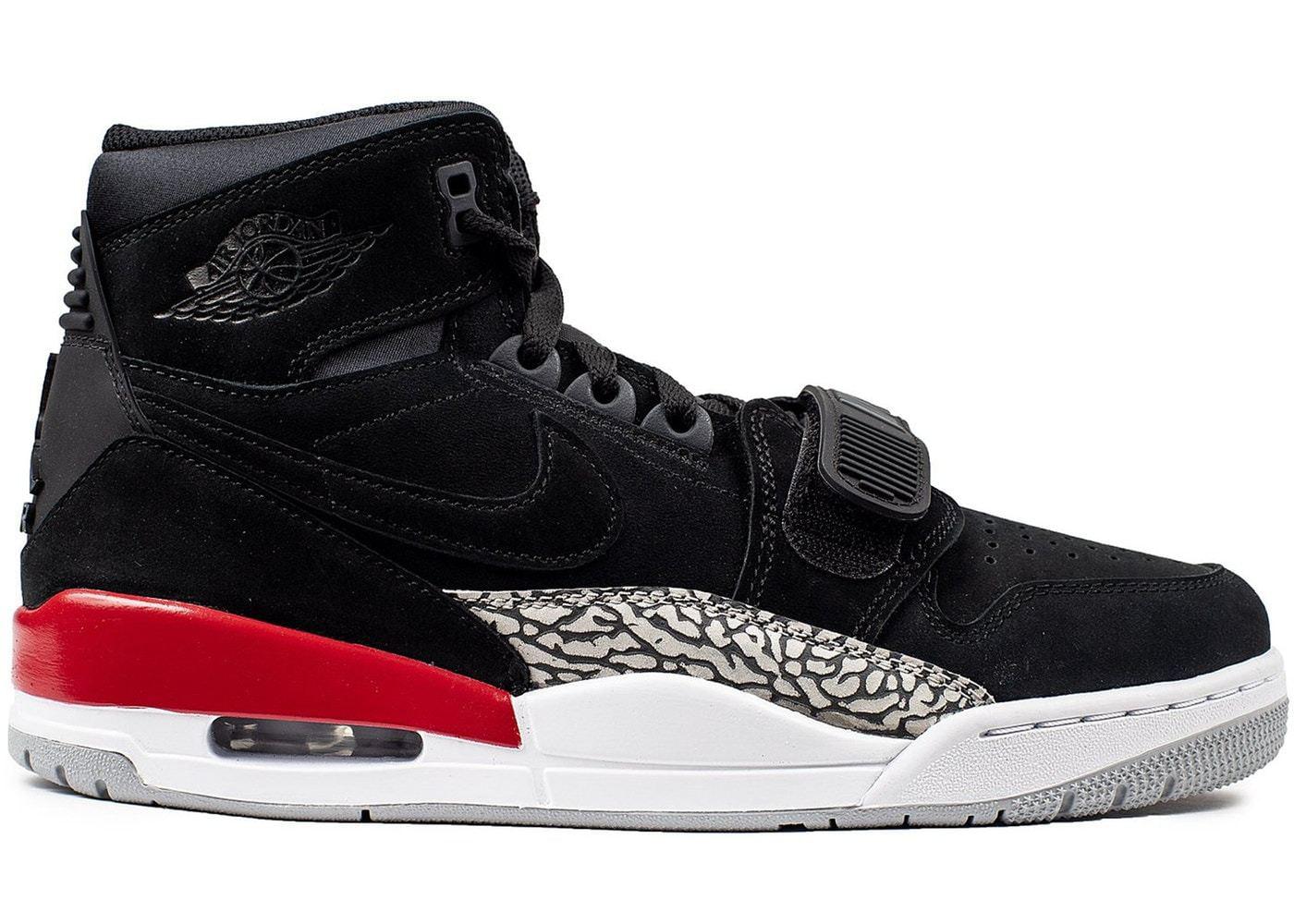 Mens Air Jordan Legacy 312 Black Suede