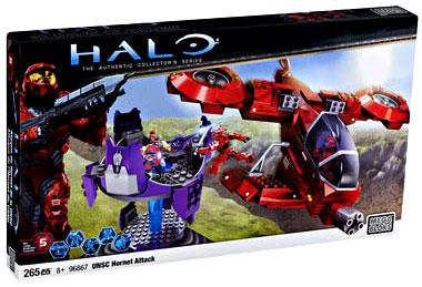 Halo UNSC Hornet Attack Set Mega Bloks 96867 by