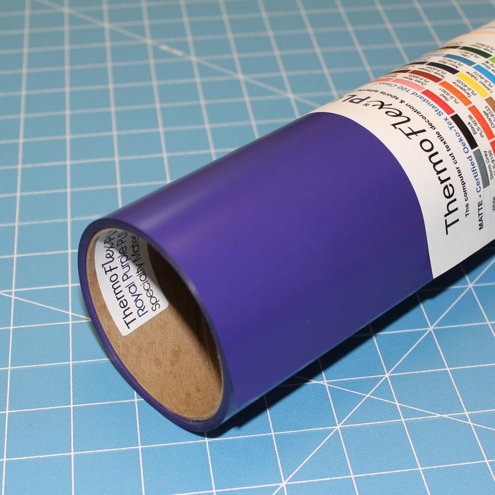 "Purple 15"" x 10' (feet) ThermoFlex Plus Heat Transfer Vinyl, HTV"