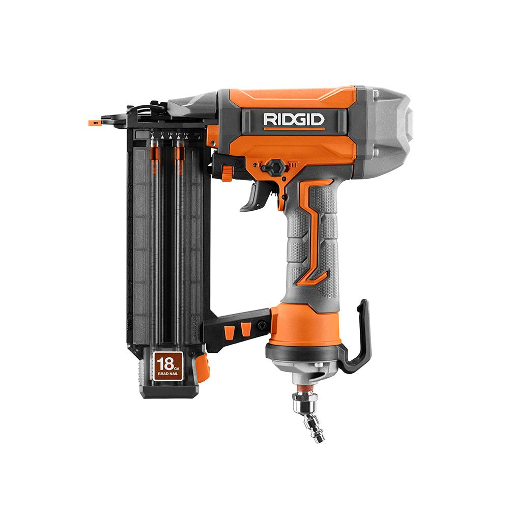 Ridgid R213BNF Brad Nailer 2-1/8 In. 18-gauge With Clean Drive Technology