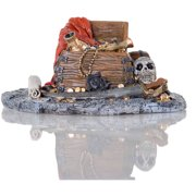 "BioBubble Decorative Pirate Treasure, 7.5"" x 6"" x 3.75"""