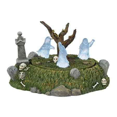 Dept 56  Halloween Village 6001737 Graveyard Ghost Dance 2018 for $<!---->