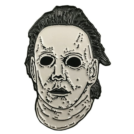 Halloween 6 The Curse of Michael Myers Mask Enamel Pin](Halloween Pins Craft)