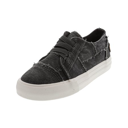 Blowfish Marley Smoked Twill Gray Hipster Ankle-High Fabric Fashion Sneaker - 10M