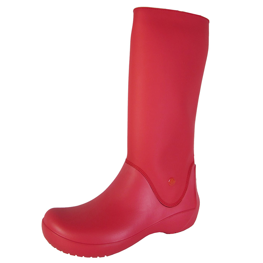 Crocs Womens RainFloe Waterproof Boot Shoes