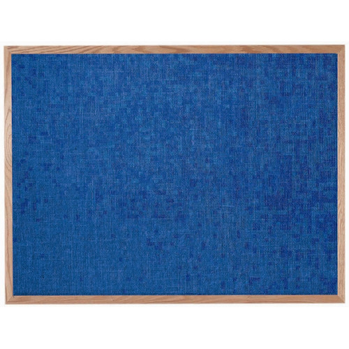 AARCO Designer Fabric Wall Mounted Bulletin Board