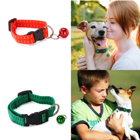 Ultra Safe Anti Flea and Tick Prevention Collar Neck Ring for Large Small Dogs Cats Pet Anti Parasites Mosquito Cat Dog Collars with Adjustable Strap Green/Red/Purple