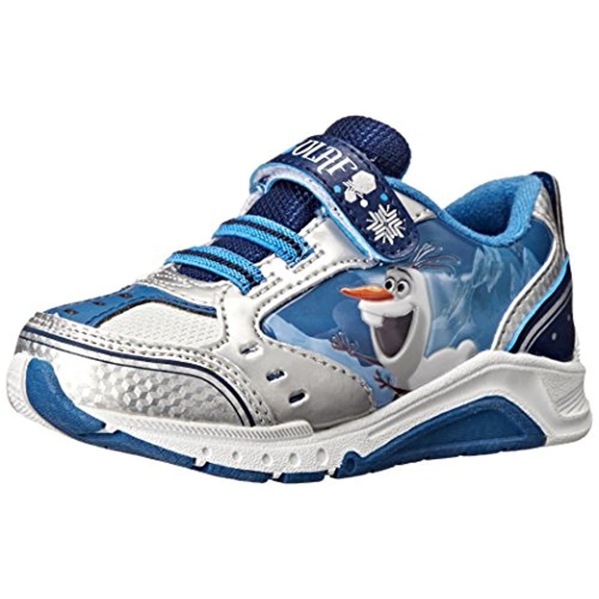 Disney Boys Olaf Frozen Light Up Tennis Shoes