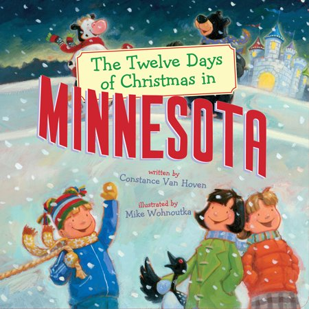 Twelve Days of Christmas in America: The Twelve Days of Christmas in Minnesota (Board Book) - The 12 Days Of Halloween Book