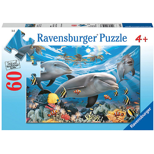 Ravensburger Caribbean Smile Puzzle, 60 Pieces