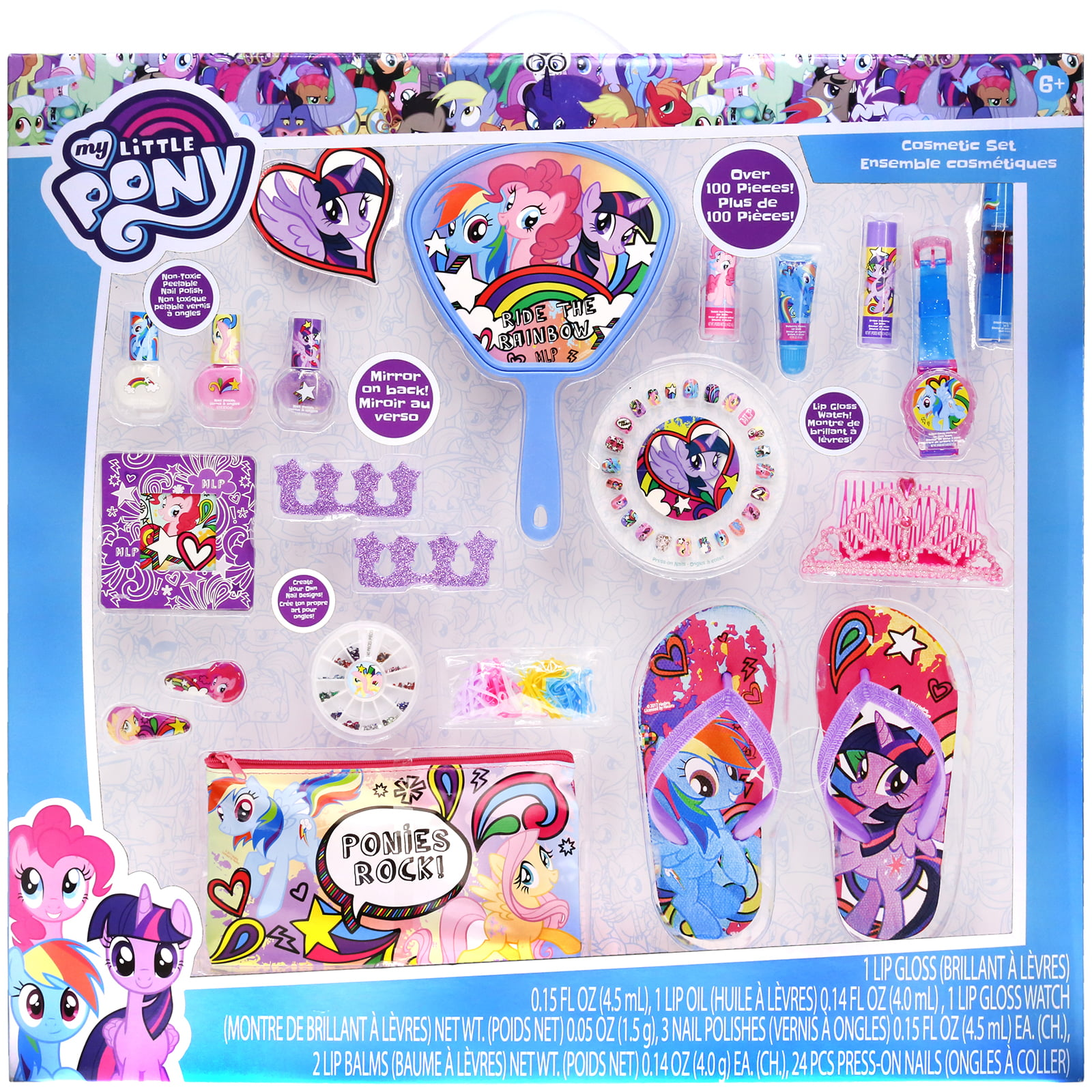 My Little Pony Mega Cosmetic Set by Townley Inc