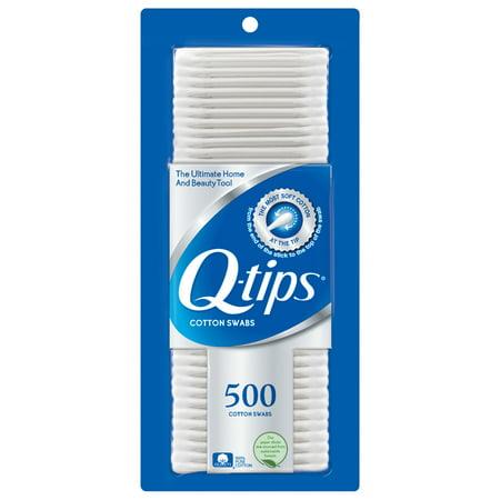 Q-tips Cotton Swabs, 500 ct - Walmart com