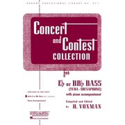 Rubank Educational Library: Concert and Contest Collection for Bass/Tuba (B.C.): Solo Book Only (Other)