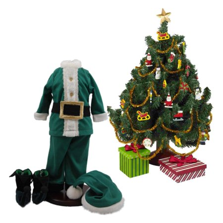 complete night before christmas costume pajama doll clothing outfit christmas tree set for 18
