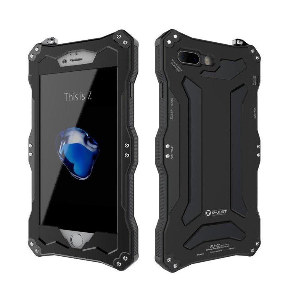 iPhone 7 Plus Case_Bpowe Gundam Gorilla Glass Aluminum Me...